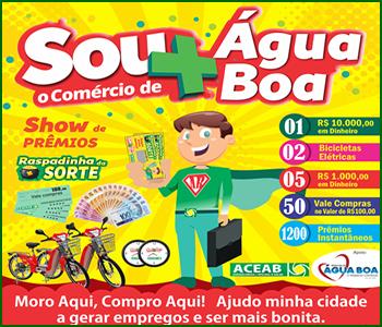 SOU + O COMÉRCIO DE ÁGUA BOA
