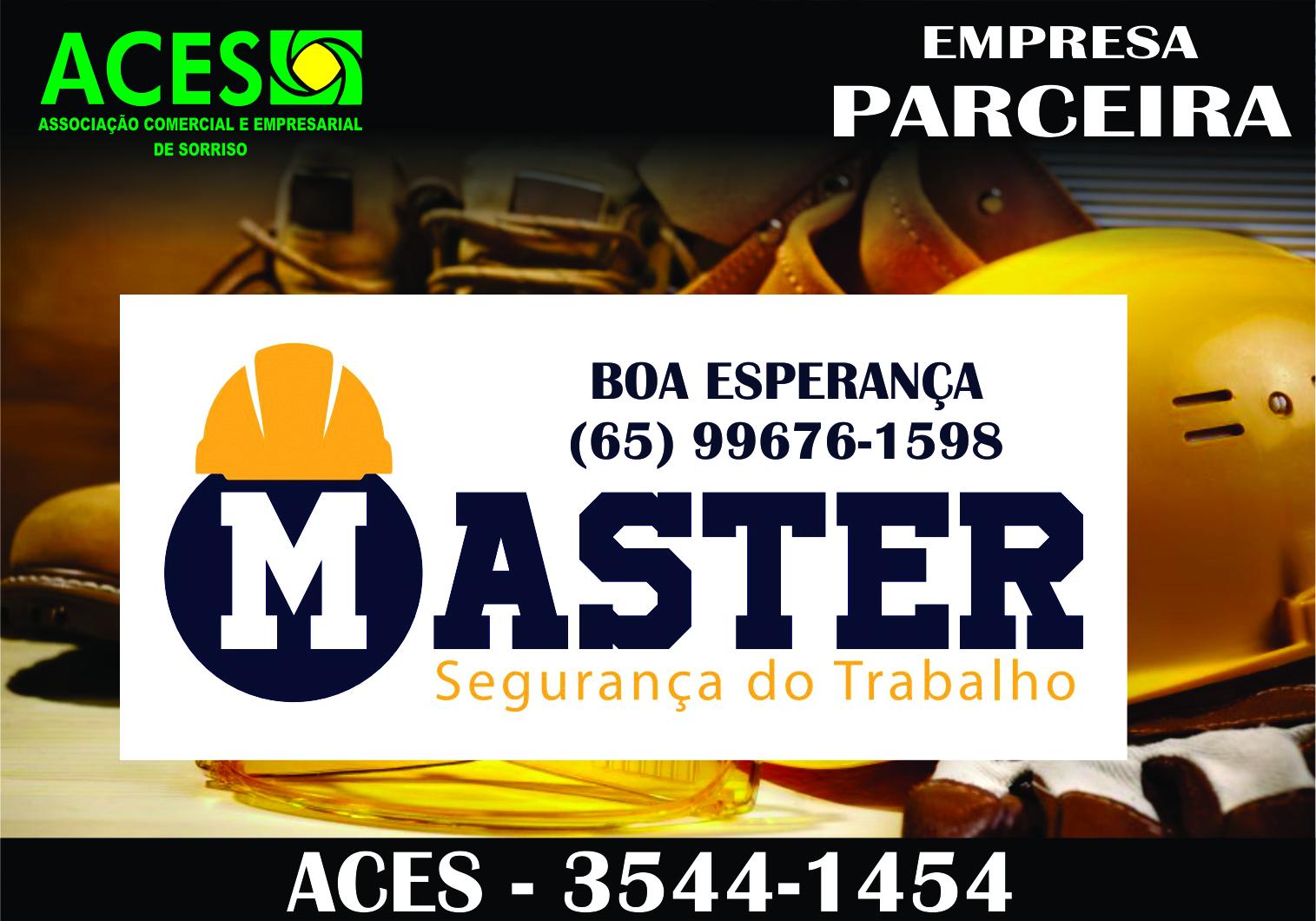 MASTER SEGURANÇA DO TRABALHO